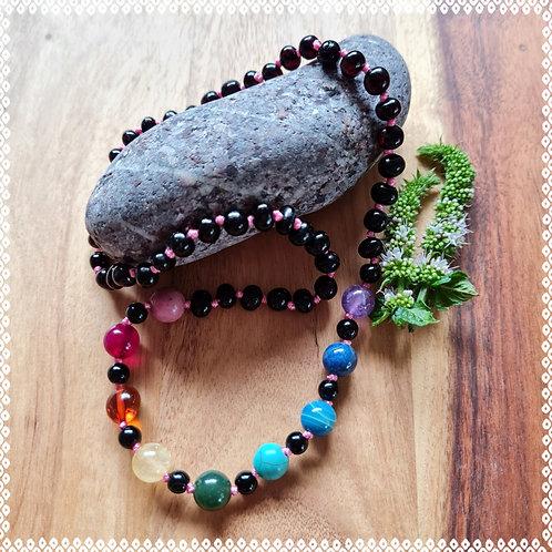 Rainbow Beauty necklace