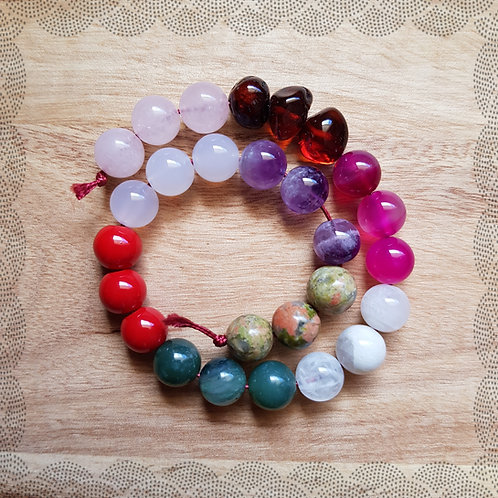 Birthing necklace mother blessing kit