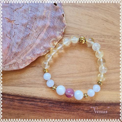 """Venus"" gemstone bracelet"