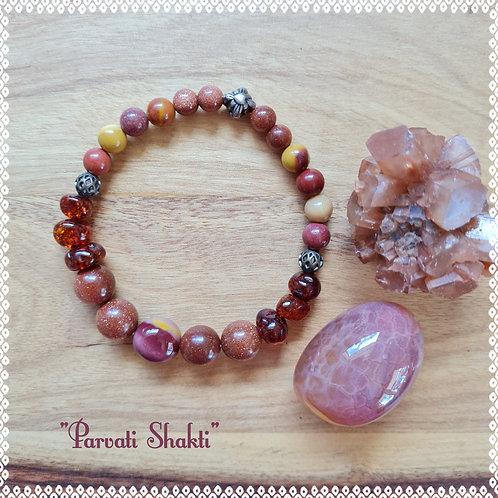 """Parvati Shakti"" gemstone bracelet"