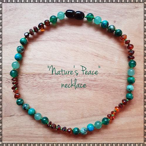 """Nature's peace"" necklace"