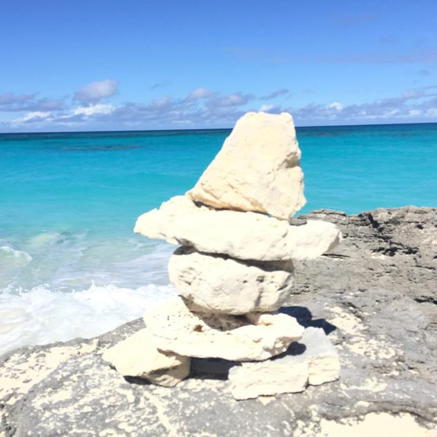Grotto Beach et ses rochers