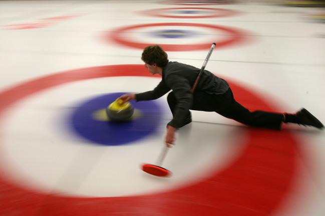 USA Olympic Curling Team training