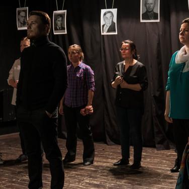 выступление на сцене начальной группы