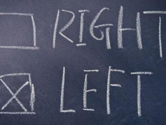 Teaching Right Versus Left
