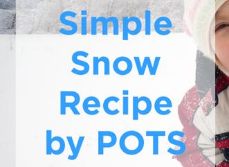 Simple Snow Recipe for Indoor Fun