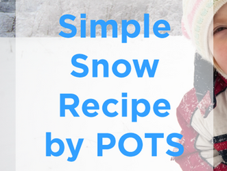Simple Snow Recipe for Indoor Fun