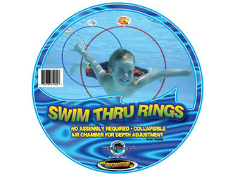 Pool Toy Review: Swim Thru Rings