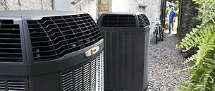 Residential HVAC units coil cleaning