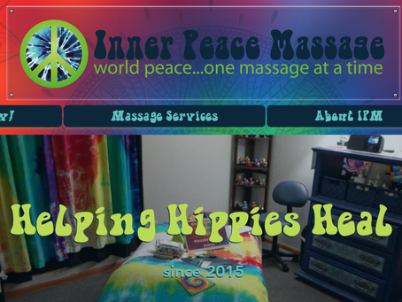 Introducing the All New Inner Peace Massage Website