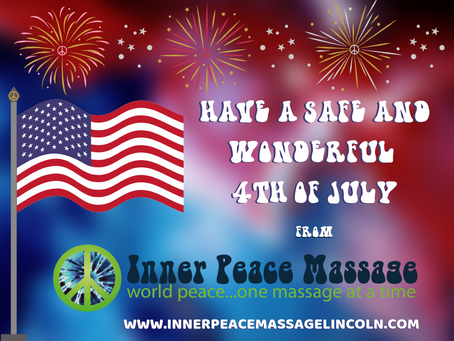 Happy 4th of July: From Inner Peace Massage