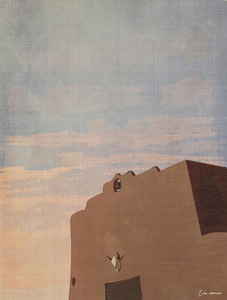 """New Mexico evening"""