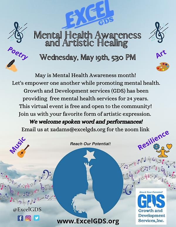 Mental Health Awareness and Artistic Hea