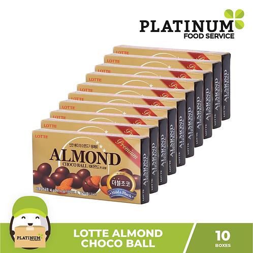 Lotte Almond Choco Ball 10boxes