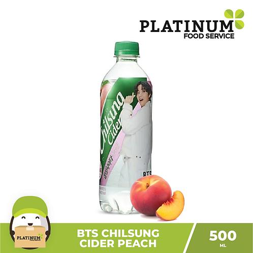 BTS Chilsung Cider Peach 500ml