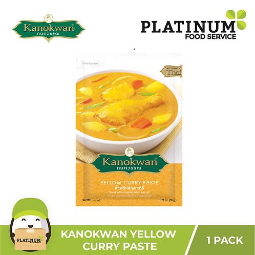 Kanokwan Yellow Curry Paste 50g
