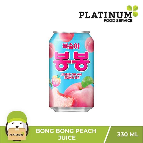 Bong Bong Peach Juice 330ml