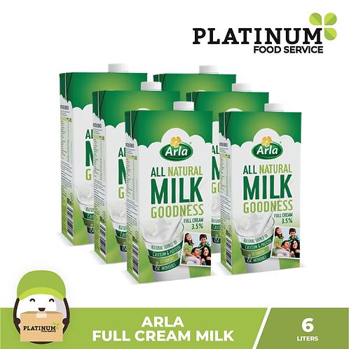 Arla Full Cream Milk 1L x 6