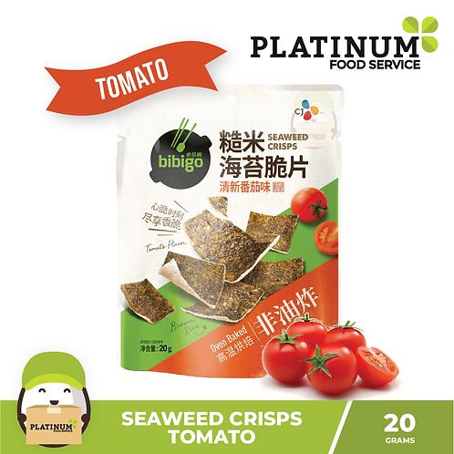 CJ Bibigo Seaweed Crisps Tomato 20g