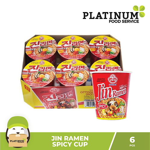 Jin Ramen Hot 65g x 6