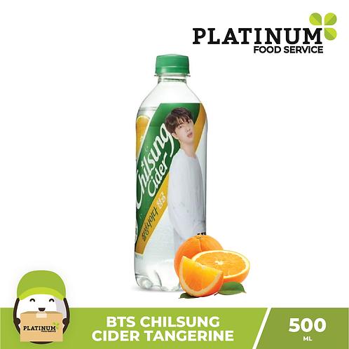 BTS Chilsung Cider Tangerine 500ml