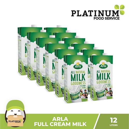 Arla Full Cream Milk 1L x 12