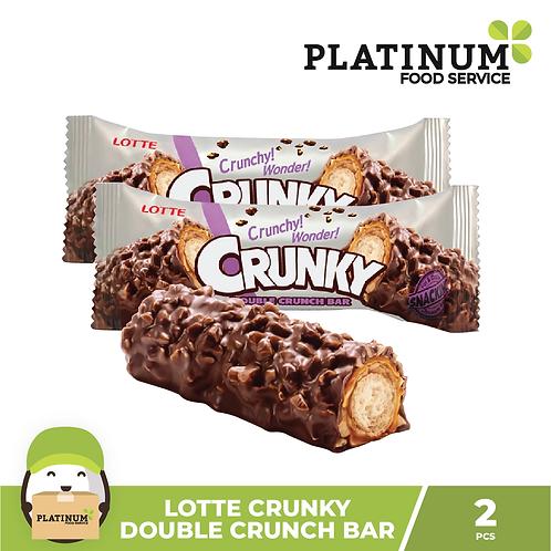 Lotte Crunky Double Crunch 2pcs