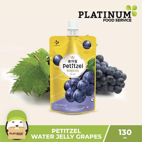 Petitzel Water Jelly Grapes 130ml
