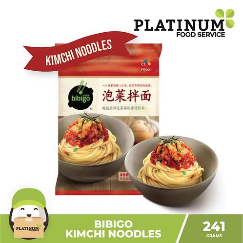 CJ Bibigo Korean Noodle Kimchi Flavor 230g