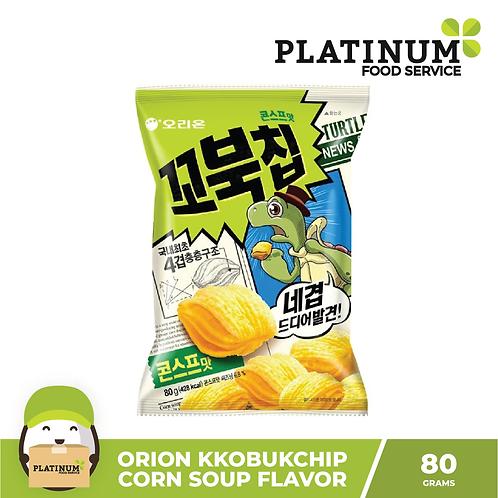 Orion Kkobukchip Corn Soup Flavor 80g