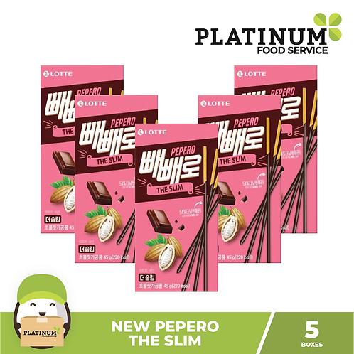 Pepero The Slim Chocolate Flavor 45g Set of 5