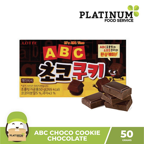 ABC Choco Cookie Chocolate 50g