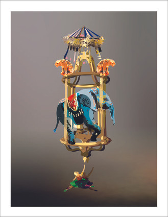 Bronze Cage by Jennifer Geiger