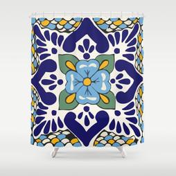 Talavera Blue Green Mosaic
