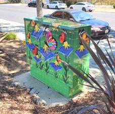 City of Los Gatos, CA Utility Box Art Wrap
