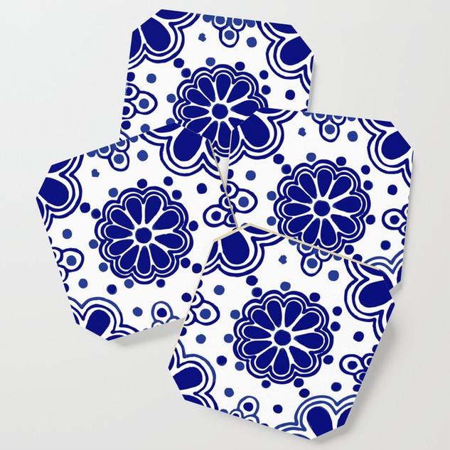Talavera Classic Blue & White Pattern