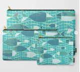 Swimming Fishies Carry-All Pouch
