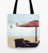 Sparkly Ocean Tote Bag
