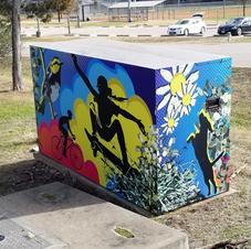 City of Cedar Park, TX Utility Box Art Wrap