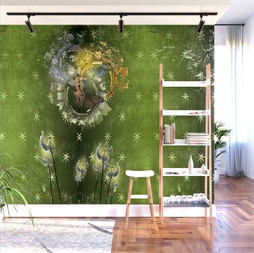 Vintage Butterfly 6 Wall Mural