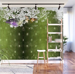 Vintage Butterfly 5 Wall Mural