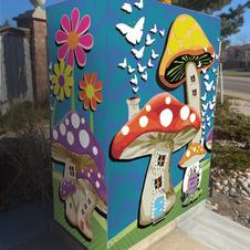 City of Thornton, Colorado Utility Box Art Wrap