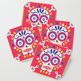 Day of the Dead Red Sugar Skull Design