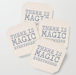 There is Magic Everywhere Coaster Set