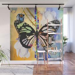 Reflections Ferris Wheel Butterfly