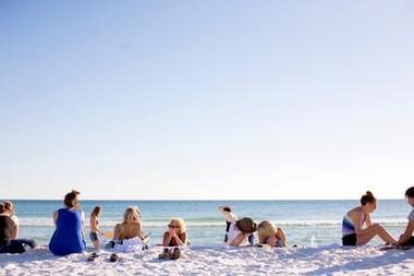 Family Beach Picnics