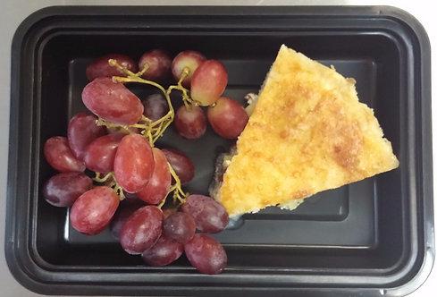 Quiche Lorraine & Fruit