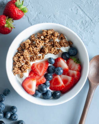 Greek Yogurt Bowl with House-Made Granola