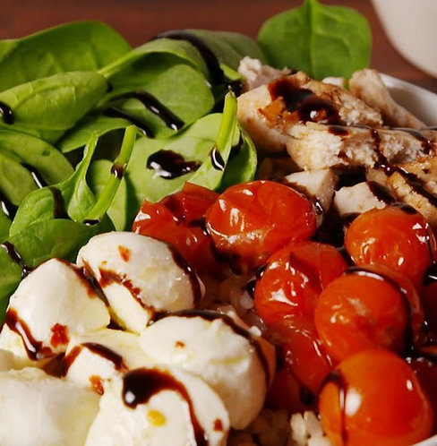 Caprese Chicken Bowl