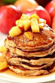 Apple Protein Pancakes & Sausage